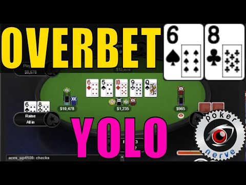 68o YOLO from BB - 5x Pot Check Raise On the River [Hand Replay]