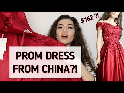 PROM DRESS for 162$?? | TRY ON HAUL | Hebeos review | Anetta