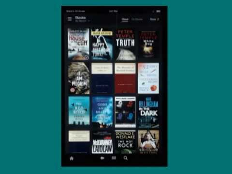 New Kindle Fire HD magnification feature
