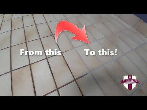 Tile and Grout Cleaning [Feb 2018] - Grout Color Renew by Rendall's Cleaning