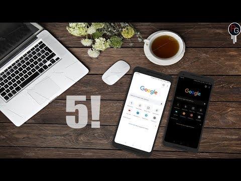 Top Best  Experimental Features Google Chrome - Android|DARK MODE||Modern Design||Hidden Settings..