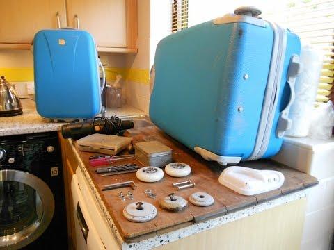 Step by Step Guide on How to Repair & Replace Broken Suitcase Luggage Wheels Tripp Samsonite