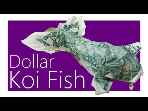 Dollar Koi Fish Origami Tutorial (Won Park)