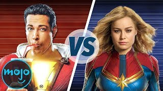 Shazam VS Captain Marvel