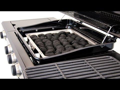 Char-Broil Hybrid 3-Burner Gas / Charcoal Grill