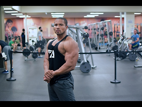 OLD SCHOOL BODYBUILDING CHEST WORKOUT -FULL ROUTINE