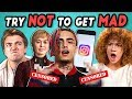 College Kids React To Try Not To Get Mad Challenge Game Of Thrones Lil Pump