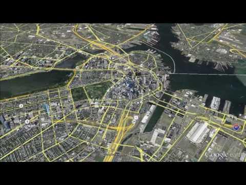 Boston: Google Earth Fly-By/Zoom-In
