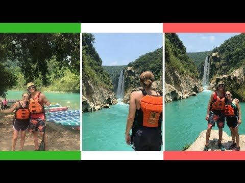 Mexico's Hidden Gem! 🇲🇽🛶 Tamul Waterfall, Huasteca Potosina