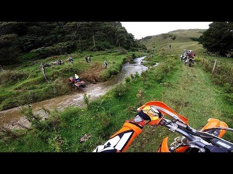 200 XC-W Marakopa Trail Ride 2016 NZ (Trail Ride #5) PART3
