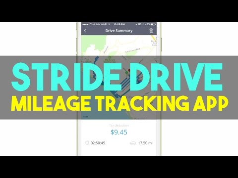 Stride Drive Free Mileage Tracking App Review | Helps Drivers Get Maximum Tax Deduction