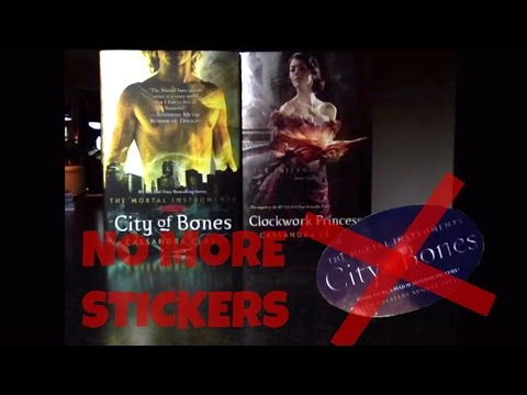 HOW TO REMOVE STICKERS FROM YOUR BOOKS