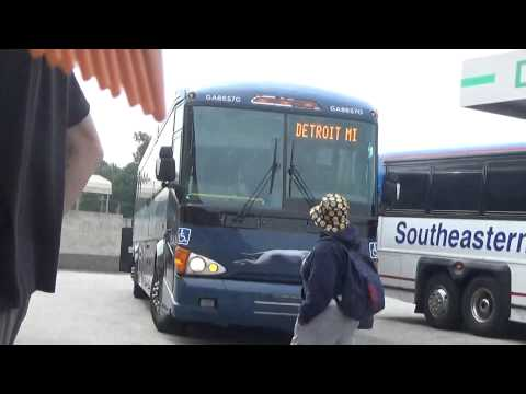 Southeastern Stages # 276 MCI D4500 pt.3