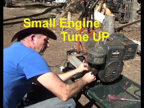 Cleaning Old Small Engine Carburetor & Tune Up PT2