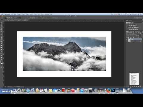 Creating a photo Frame in Photoshop CC