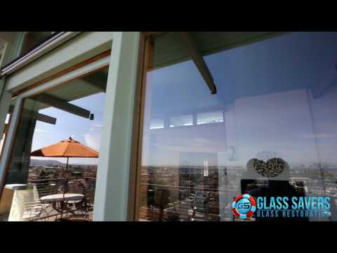 Glass Scratch Removal from slider (San Diego Glass Savers)