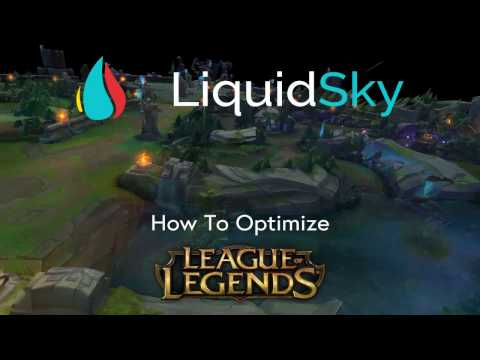 LiquidSky Optimization for League of Legends to Play on Low-end PCs, Mac, & Android Devices