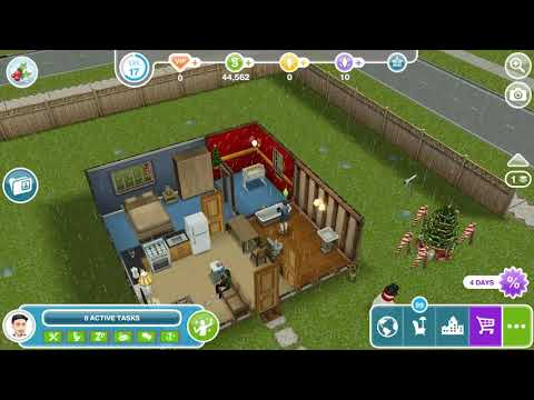 The Sims Freeplay - Need For Steed / Practice Brushing On Another Sim