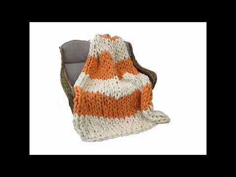 FREE Arm Knitting Course (Chunky Knit Blankets)
