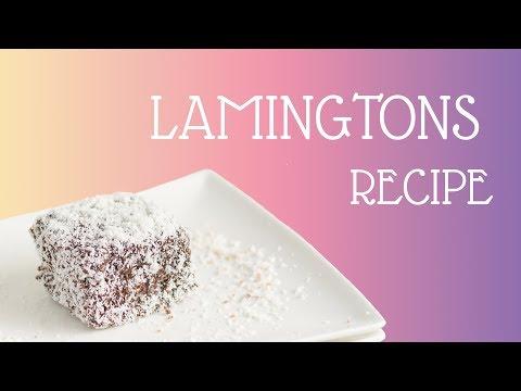 Lamingtons Recipe (REAL AUSTRALIAN RECIPE!)