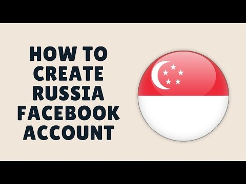 how to create russia facebook account