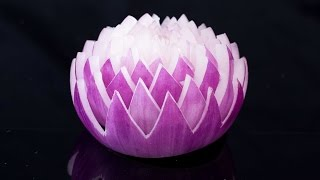 Garnish Flower - Red Onion