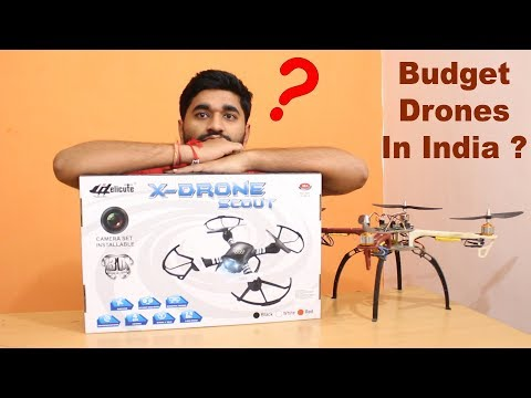 Best Budget Drone Under 5000 rs Unboxing, Reviews and Flying Test in India | My Opinion | (In Hindi)