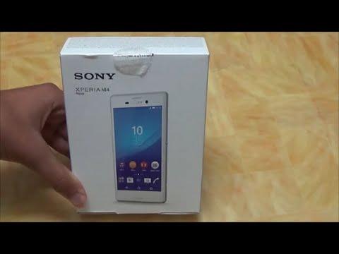 Sony Xperia M4 Aqua E2306 Unboxing