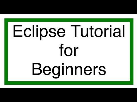 Eclipse Java Tutorial 2 - Hello World Java Program