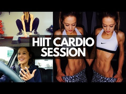 😭 9 WEEKS OUT FEELS | HIIT Cardio Session 💦💦