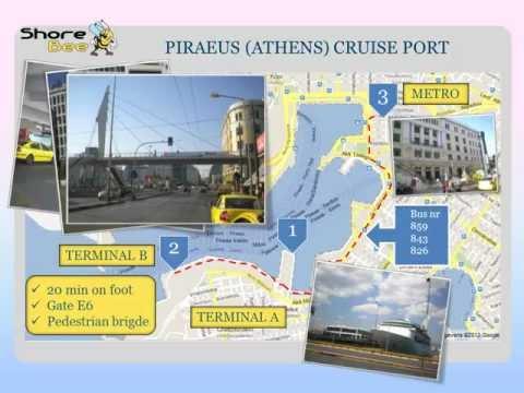 The Piraeus (Athens) cruise port