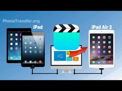 How to Copy Videos from iPad Mini to iPad Air 2, Sync iPad Air Movies with iPad Air 2