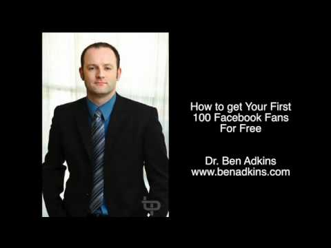 Getting Your First 100 Facebook Fans