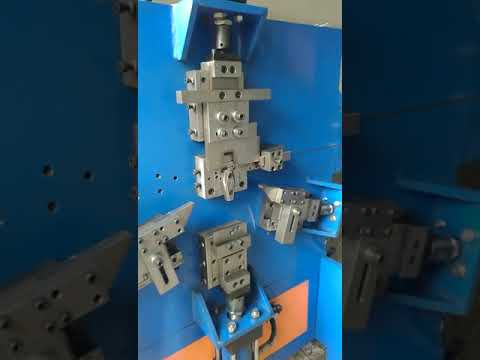 Spring Steel Wire Clip Forming Machine