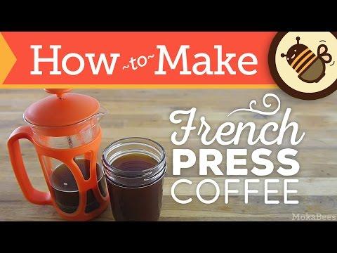 How to Make French Press Coffee - aka Press Pot