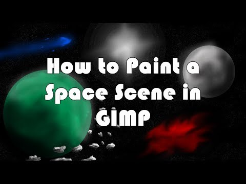 How to Paint a Space Scene in Gimp