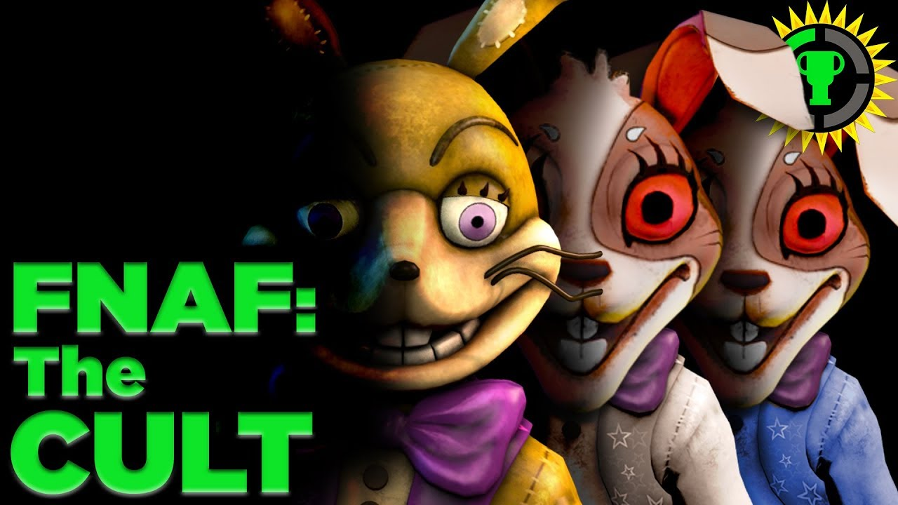 Game Theory: FNAF, The Cult of Glitchtrap (FNAF VR Curse of Dreadbear DLC)