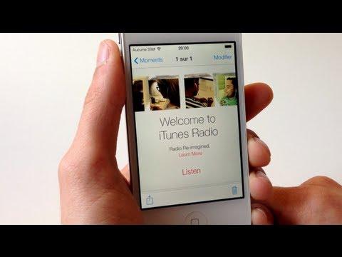 iOS 7 : Présentation de iTunes Radio