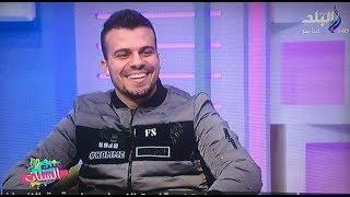 حسين غاندي في برنامج  ست الستات مع دينا رامز  حلقة من نار