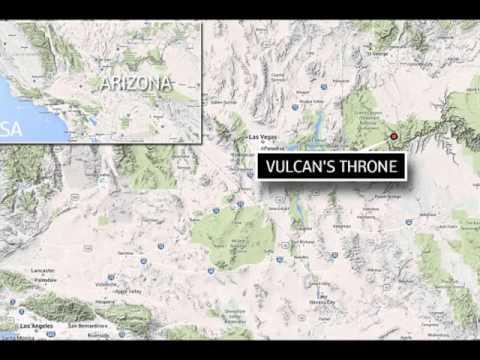 What are these strange 'alien' circles near Las Vegas?