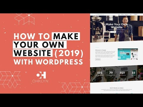 How to Make Your Own Website 2018 | Divi WordPress Tutorial