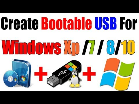 How To Install Windows Xp /7 / 8 and 10 From Bootable USB Drive 2017    Urdu/Hindi   