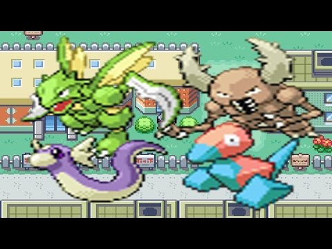 How to find Dratini, Porygon and Scyther/Pinsir in Pokemon Fire Red & Leaf Green