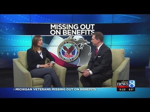 Michigan veterans missing out on benefits