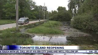 Video: Toronto Island opens on Monday but is it ready?