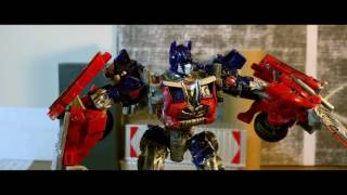 Transformers 5 Part 2 Stop Motion: One Shall Stand