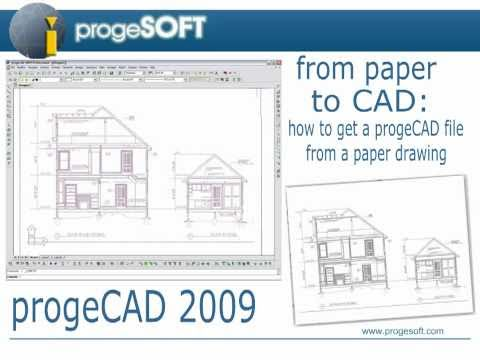Convert Adobe PDF into AutoCAD DWG with progeCAD Professional