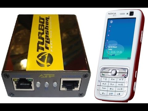 How to Flash Nokia N73 with ATF box
