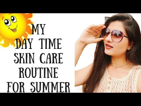 Summer skin care routine in Hindi I Summer day time skin routine for all skin types I AVNI