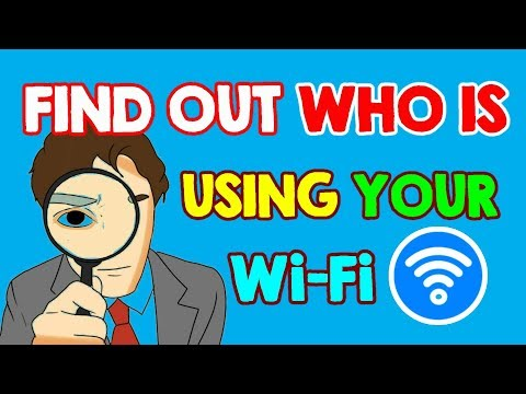 Who is Using Your WiFi Network? Check Who is Stealing Your WiFi 2017 (WiFi TRICKS)